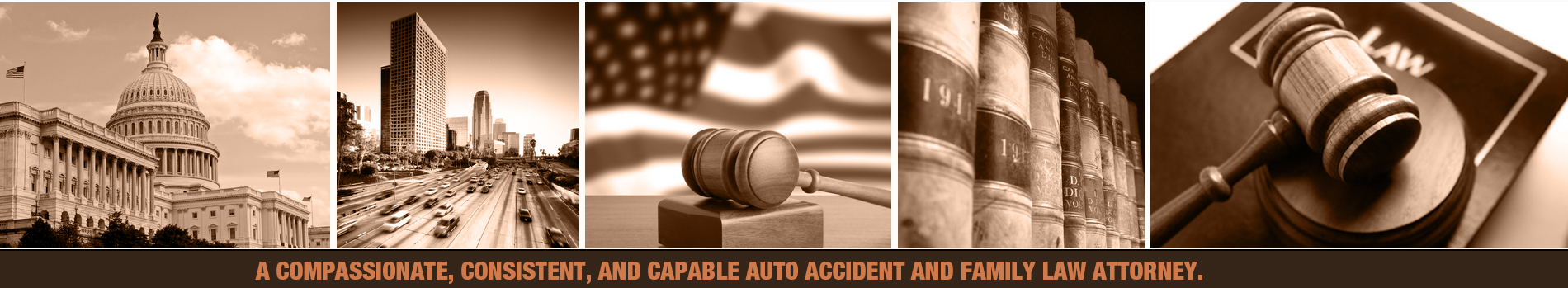 A compassionate, consistent, and capable auto accident and family law attorney